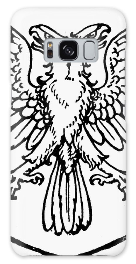 Coat Of Arms Galaxy S8 Case featuring the photograph Heraldry: Birds by Granger