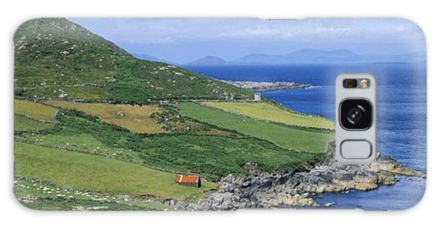 Beara Peninsula Galaxy S8 Case featuring the photograph High Angle View Of A Coastline, Beara by The Irish Image Collection