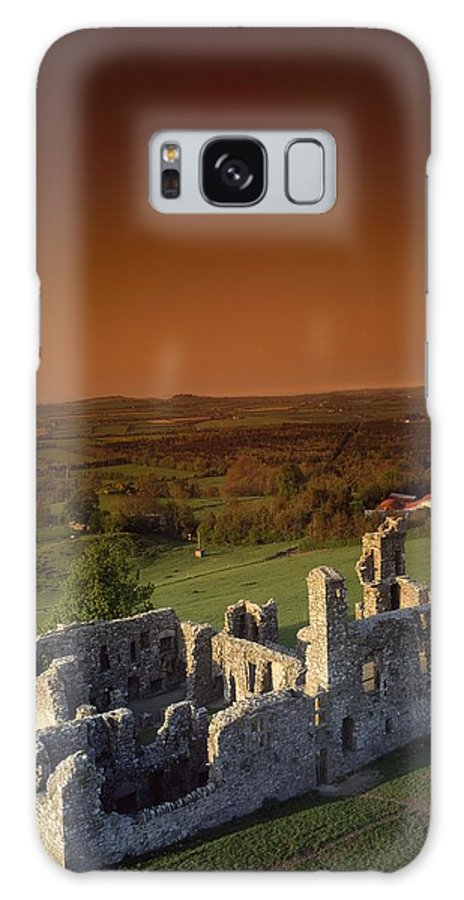 Ancient Galaxy S8 Case featuring the photograph High Angle View Of An Old Ruin,with by The Irish Image Collection