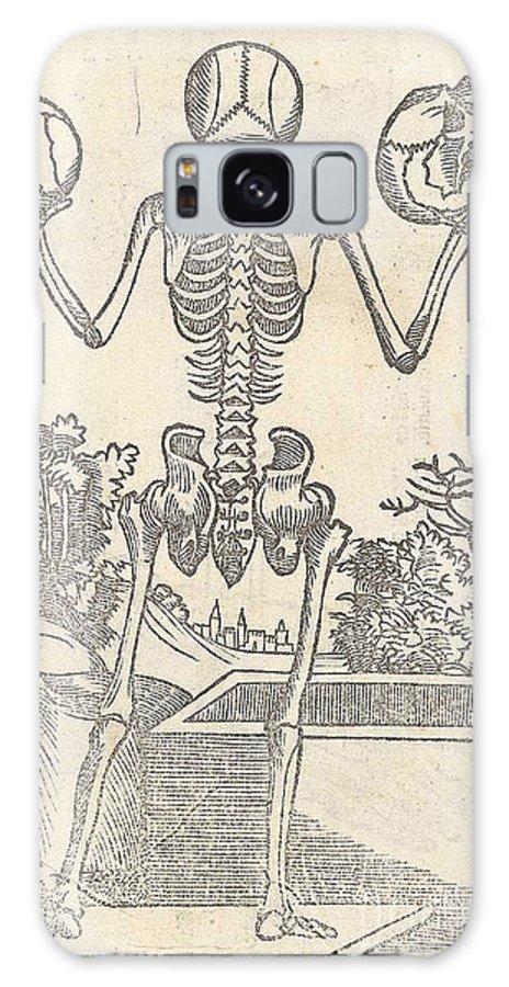 Jacopo Berengario Da Carpi Galaxy S8 Case featuring the photograph Historical Anatomical Illustration by Science Source