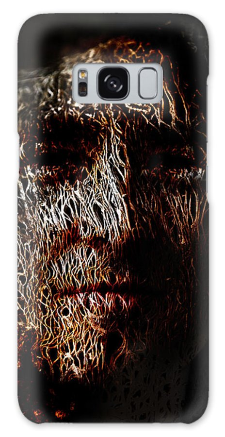 Hollowman Galaxy S8 Case featuring the painting Hollowman by Christopher Gaston
