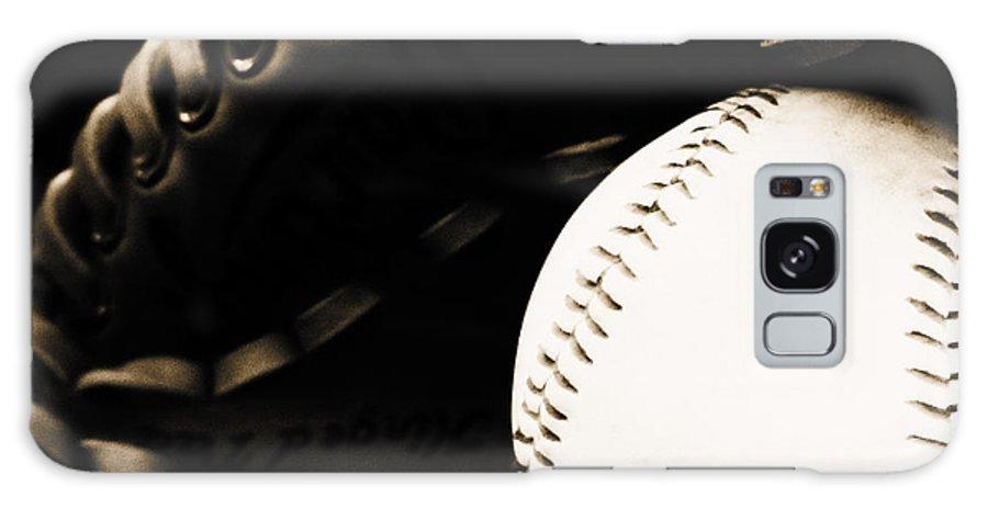 Baseball Galaxy S8 Case featuring the photograph Home Run by Lj Lambert