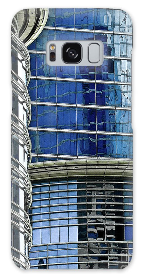 Architecture Galaxy S8 Case featuring the photograph Houston Architecture 1 by Frances Hattier