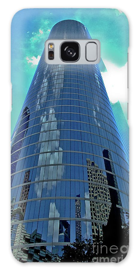 Tower Galaxy S8 Case featuring the photograph Houston Architecture 2 by Frances Hattier
