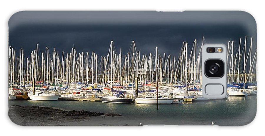 Boat Galaxy S8 Case featuring the photograph Howth Yacht Club Marina, Co Dublin by The Irish Image Collection