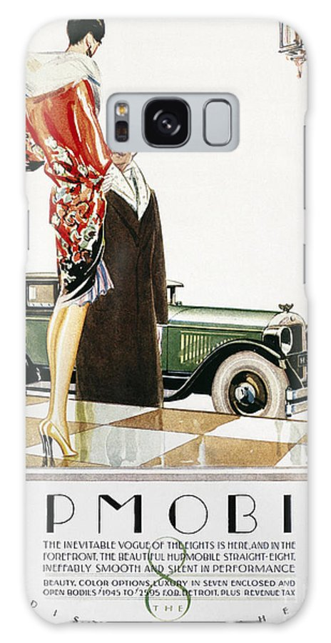 1926 Galaxy S8 Case featuring the photograph Hupmobile Ad, 1926 by Granger