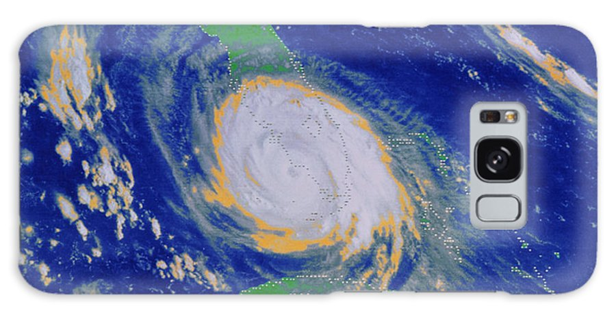 Hurricane Galaxy S8 Case featuring the photograph Hurricane by National Oceanic and Atmospheric Administration
