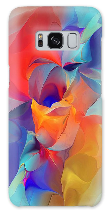 Fine Art Galaxy S8 Case featuring the digital art I Am So Glad by David Lane