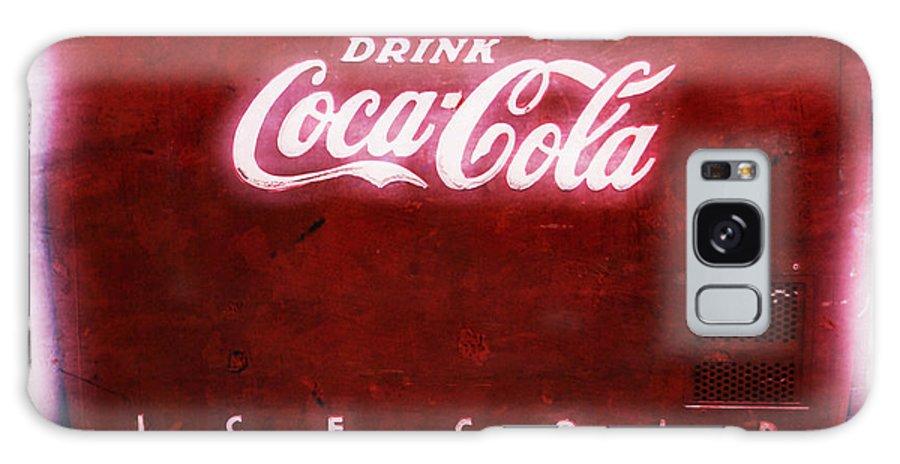 Soda Galaxy S8 Case featuring the photograph Ice Cold Coca Cola by Heidi Smith
