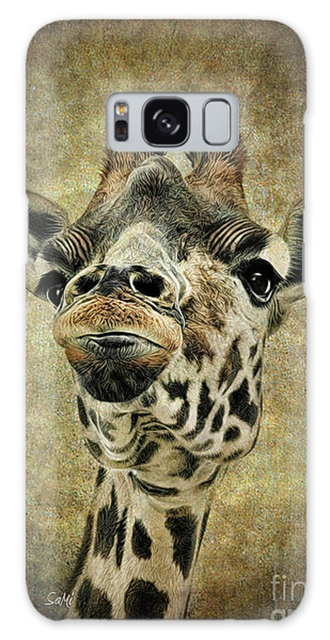 Animals Galaxy S8 Case featuring the photograph If You've Got It...flaunt It by Sami Martin