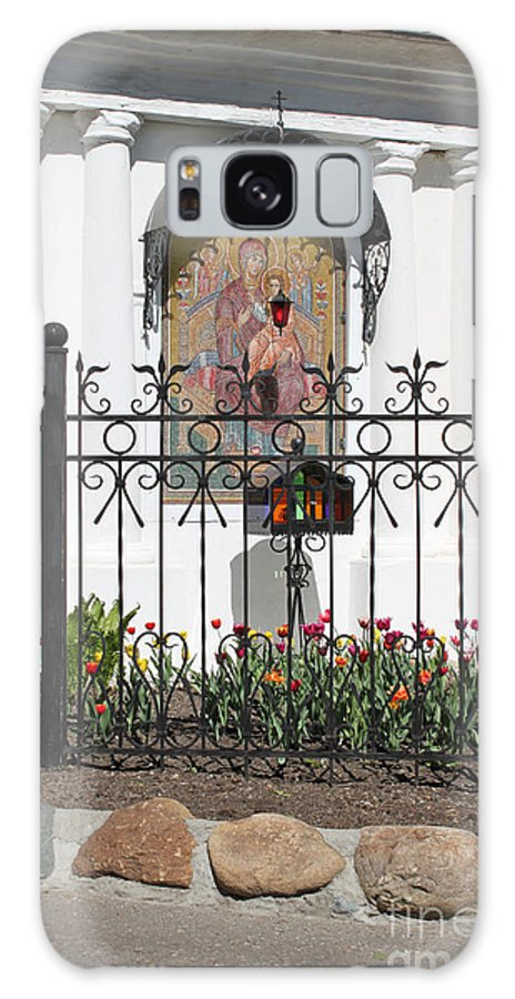 Church Galaxy S8 Case featuring the photograph In Front Of Church by Evgeny Pisarev