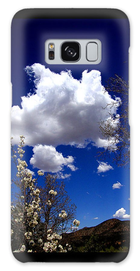 Wild Galaxy S8 Case featuring the photograph Inside The Mind Of Spring by Susanne Still