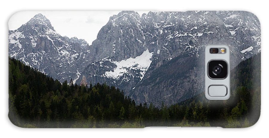 Kranjska Gora Galaxy S8 Case featuring the photograph Insignificent by Ian Middleton