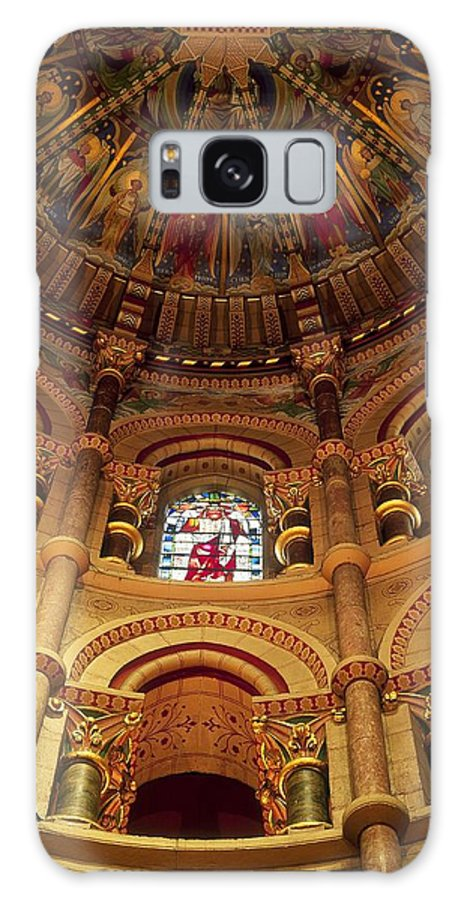 Branch Galaxy S8 Case featuring the photograph Interiors Of A Cathedral, St. Finbarrs by The Irish Image Collection