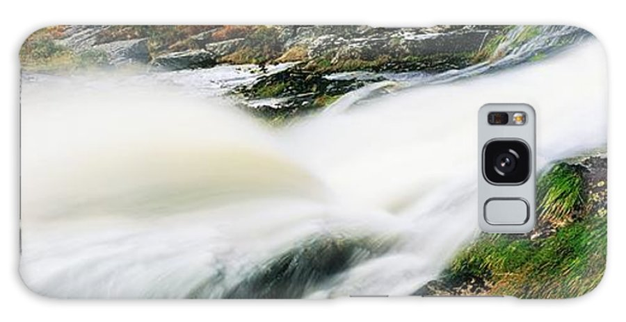 Cascading Galaxy S8 Case featuring the photograph Ireland Waterfall by The Irish Image Collection