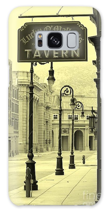 Tavern Galaxy S8 Case featuring the photograph Irish Pub by Sophie Vigneault