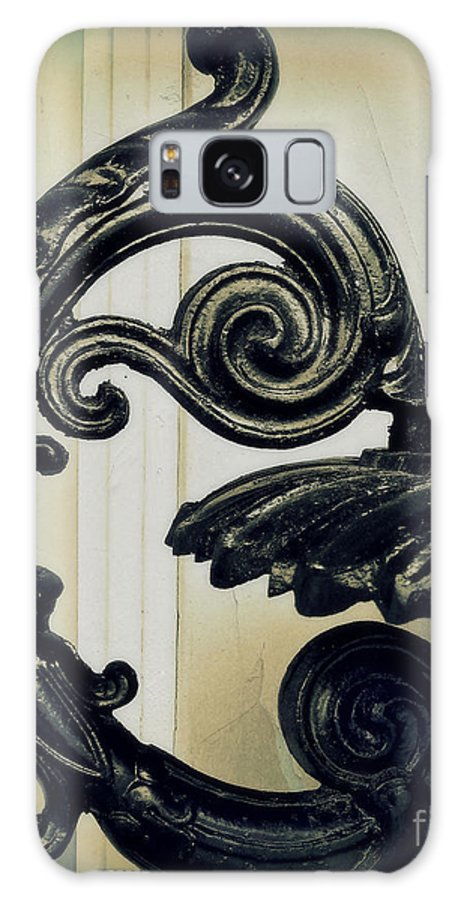 Iron Galaxy S8 Case featuring the photograph Iron Details by Perry Webster