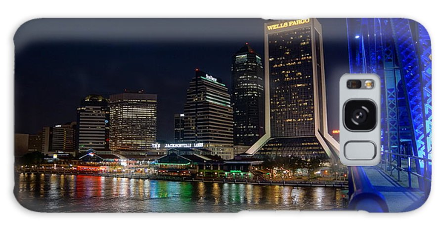Jacksonville Florida Galaxy S8 Case featuring the photograph Jacksonville Florida Riverfront by Alan Hutchins