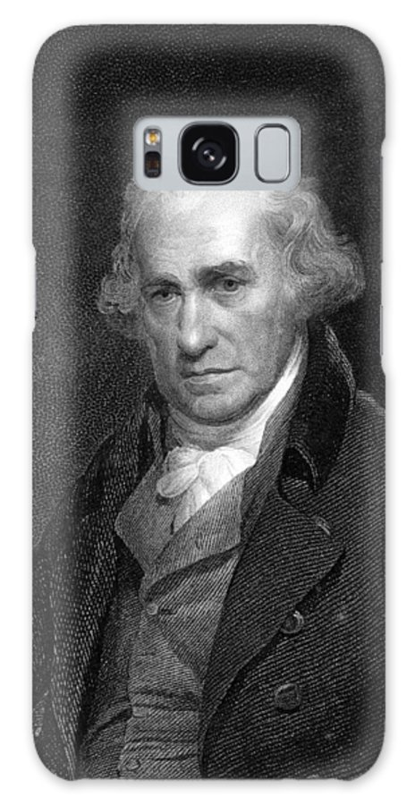 1700s Galaxy S8 Case featuring the photograph James Watt, Scottish Engineer by Middle Temple Library