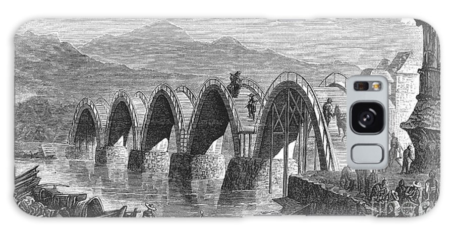 1877 Galaxy S8 Case featuring the photograph Japan: Iwakuni Bridge by Granger