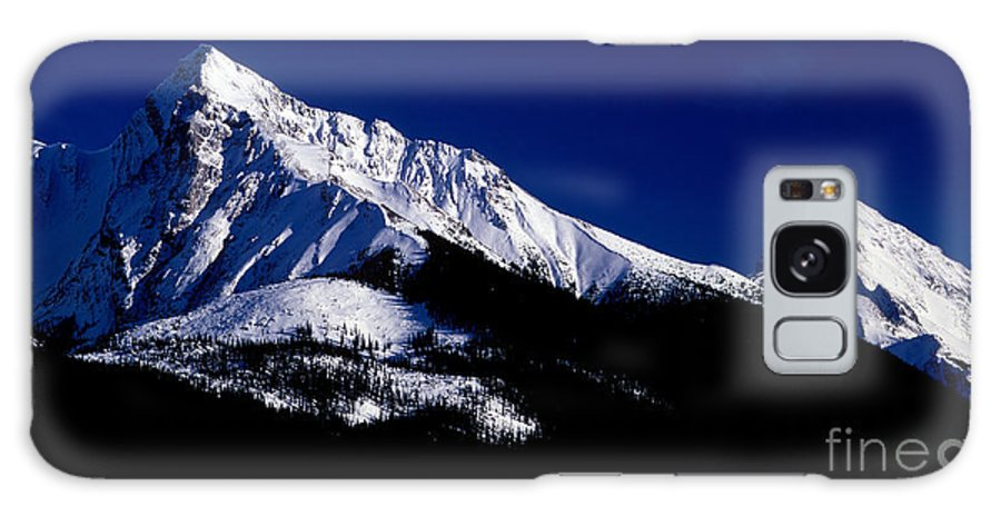 Leah Peak Galaxy S8 Case featuring the photograph Jasper - Leah And Sampson Peaks by Terry Elniski