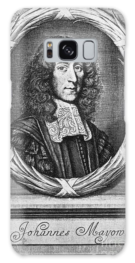 1674 Galaxy S8 Case featuring the photograph John Mayow (1640-1679) by Granger