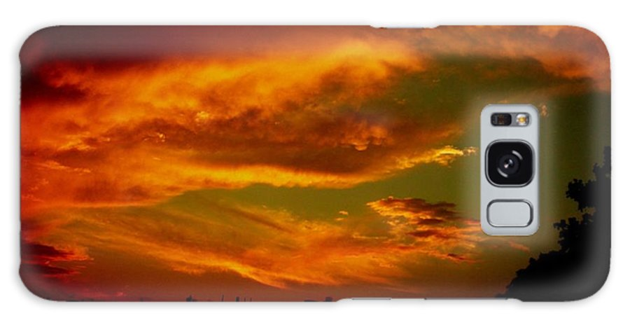 Sunset Galaxy S8 Case featuring the photograph July 21 2010 by Mark Gilman
