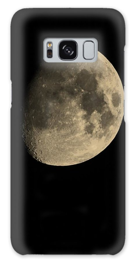 Moon Galaxy S8 Case featuring the photograph July 28th 12 Moon by Eric Liller