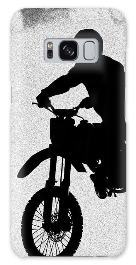 Motorcycle Galaxy S8 Case featuring the photograph Jumping High by Carolyn Marshall