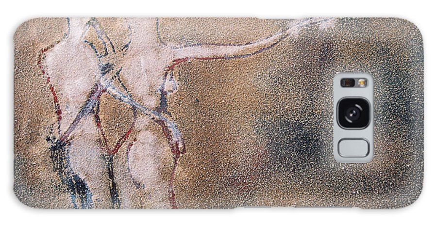 Oil Love Juntos 2 Galaxy S8 Case featuring the painting Juntos 2 by Jorge Berlato