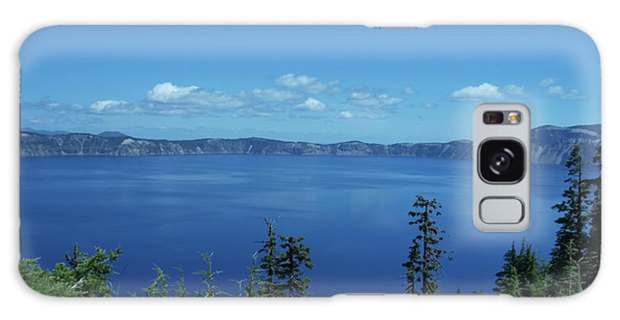 Blue Galaxy S8 Case featuring the photograph Just One Part Of Crater Lake by Teri Schuster