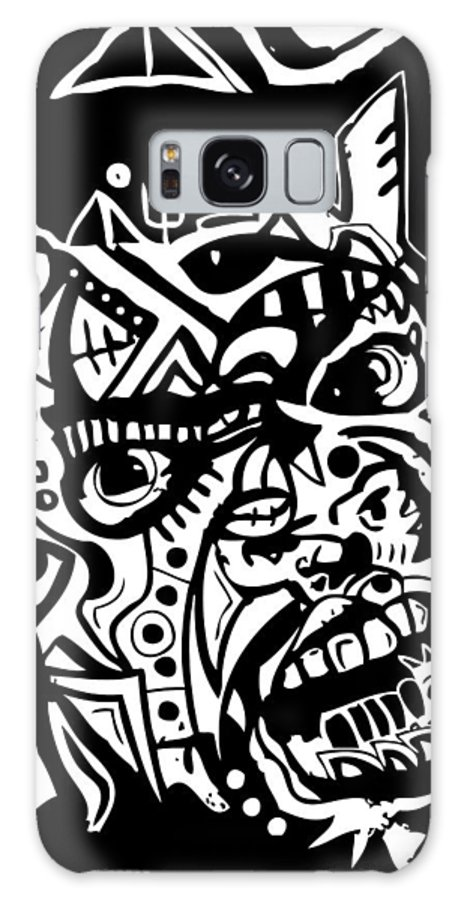 Blackartist Galaxy S8 Case featuring the digital art Kamoni-khem by Kamoni Khem