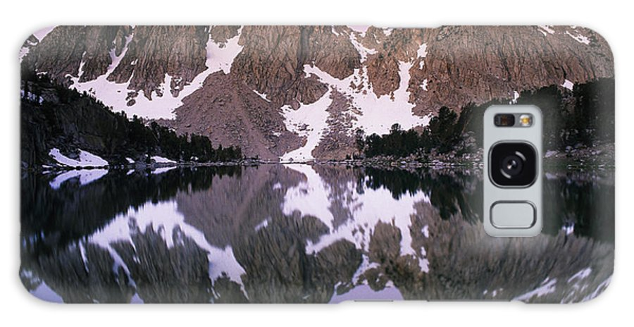 North America Galaxy S8 Case featuring the photograph Kearsarge Lake Reflects The Nearby by Phil Schermeister