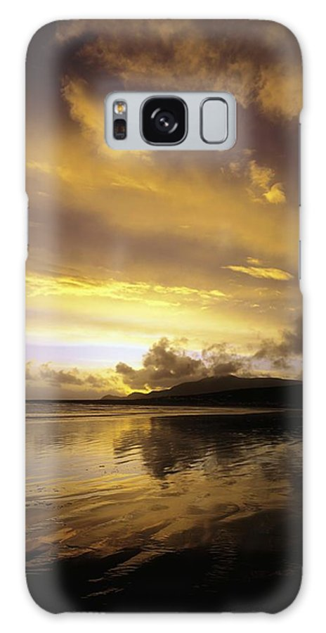 Beauty Galaxy S8 Case featuring the photograph Keel, Achill Island, Co Mayo, Ireland by The Irish Image Collection