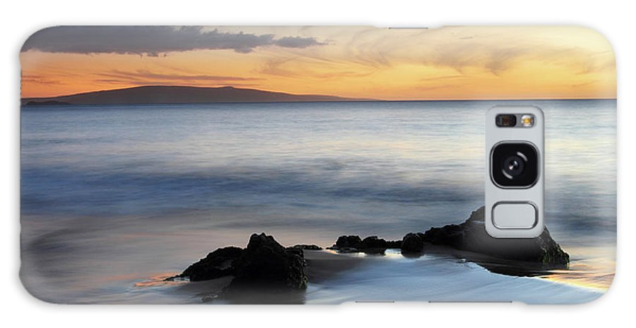 Kihei Galaxy S8 Case featuring the photograph Kihei Maui Sunset by Pierre Leclerc Photography