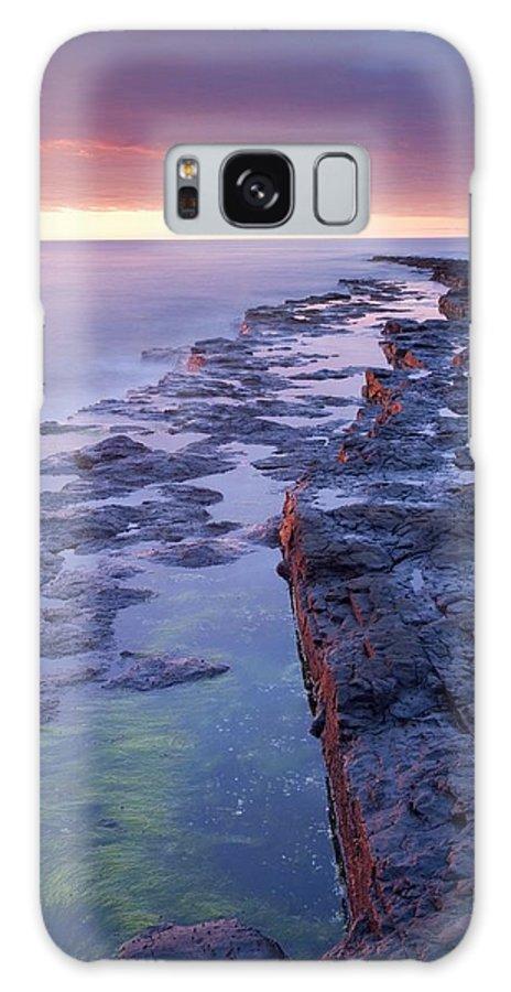 Sunset Galaxy S8 Case featuring the photograph Killala Bay, Co Sligo, Ireland Bay At by Gareth McCormack