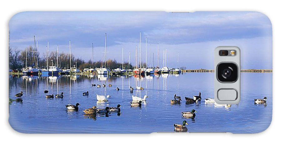 Antrim Galaxy S8 Case featuring the photograph Kinnego Marina, Lough Neagh, Co Antrim by The Irish Image Collection