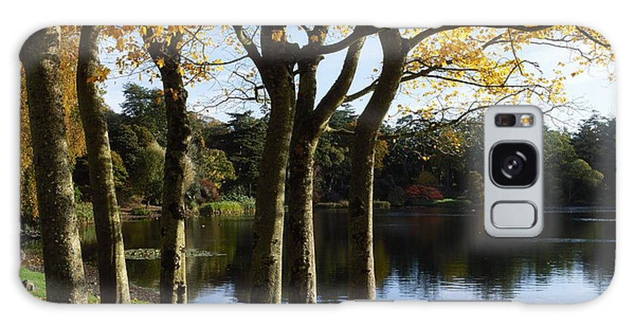 Autumn Color Galaxy S8 Case featuring the photograph Lake And Trees, Mount Stewart, Co Down by The Irish Image Collection