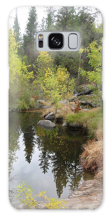Nature Galaxy S8 Case featuring the photograph Lake In Sierras by Naxart Studio