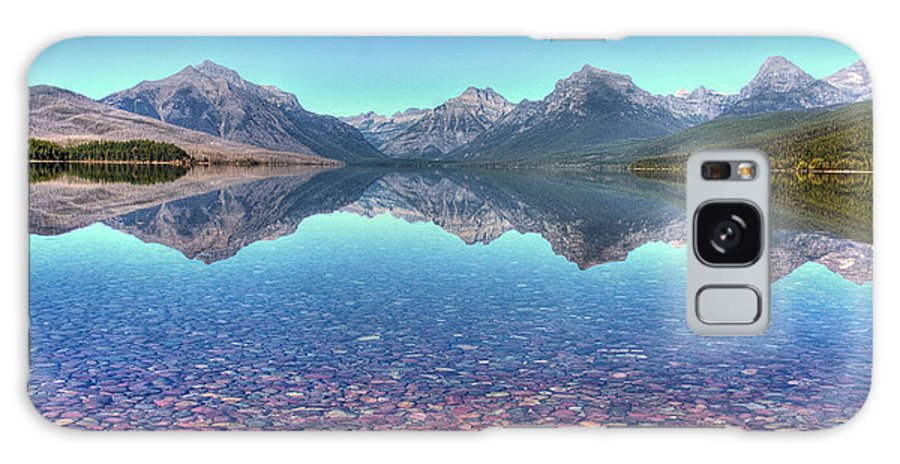 Landscape Galaxy S8 Case featuring the photograph Lake Mcdonald by Rick Ulmer