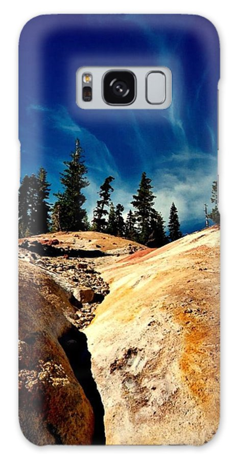 Rocks Galaxy S8 Case featuring the photograph Lassen Volcanic National Park by Peter Mooyman