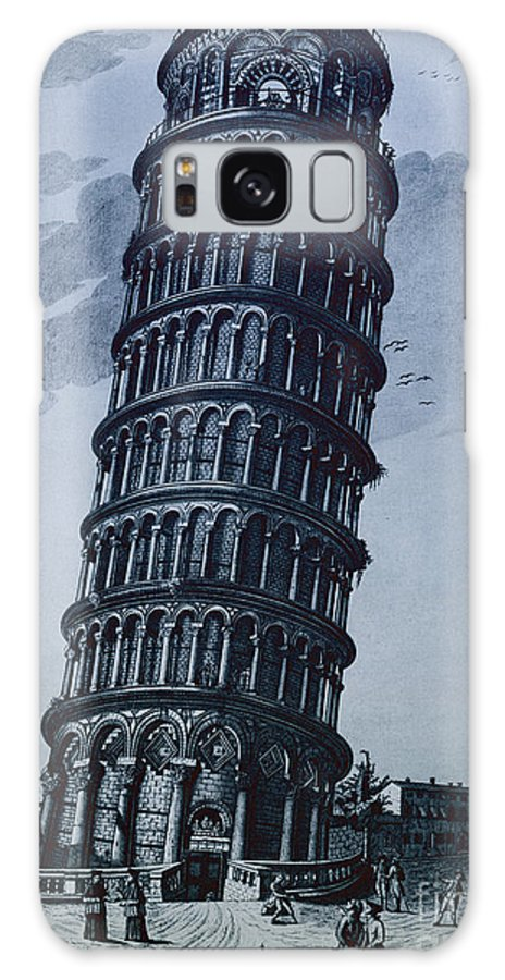 Architecture Galaxy S8 Case featuring the photograph Leaning Tower Of Pisa by Science Source