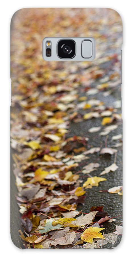 Autumn Galaxy S8 Case featuring the photograph Left Behind by Rebecca Cozart