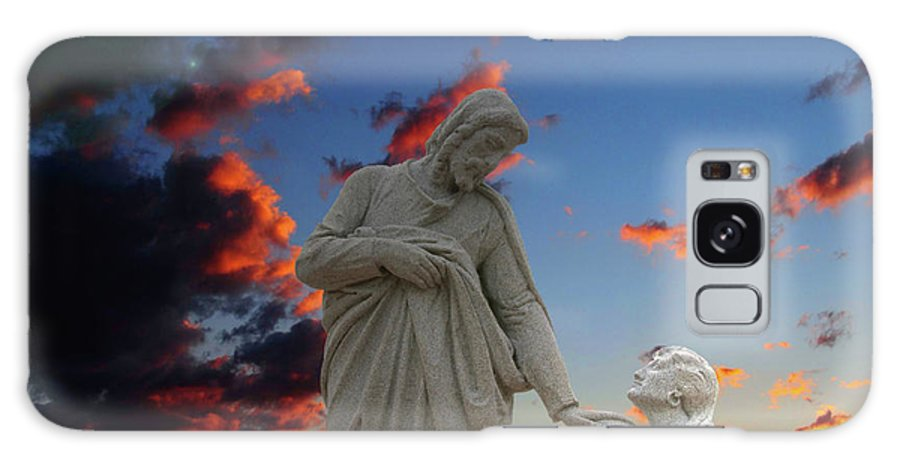 Jesus Galaxy S8 Case featuring the photograph Let The Little Ones by David Arment