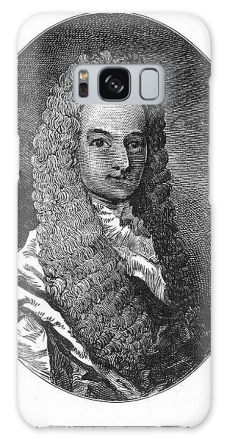 18th Century Galaxy S8 Case featuring the photograph Lewis Morris (1671-1746) by Granger