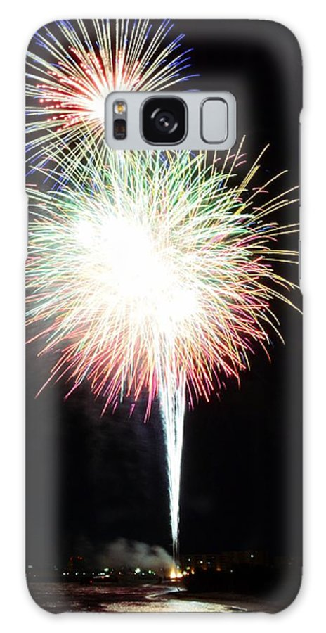 Fireworks Galaxy S8 Case featuring the photograph Light Up The Night by David Morefield