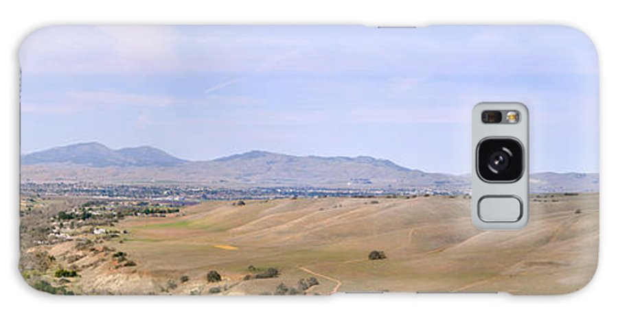 Mines Road Galaxy S8 Case featuring the photograph Livermore Valley Panorama by Karen W Meyer