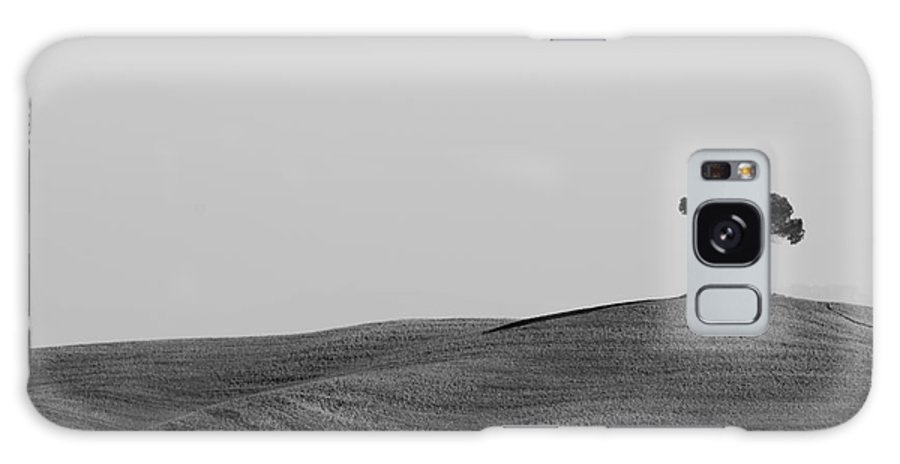 Tree Galaxy S8 Case featuring the photograph Lonely Tree On The Hill by Mats Silvan