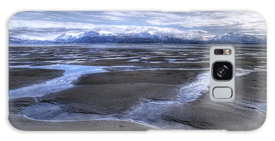 Beach Galaxy S8 Case featuring the photograph Low Tide by Michele Cornelius
