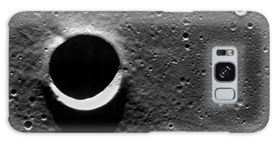 Sarabhai Galaxy S8 Case featuring the photograph Lunar Crater, Apollo 17 Photograph by Detlev Van Ravenswaay